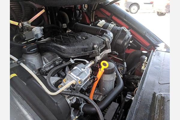 Погрузчик Linde БУ модель H25D, год выпуска 2012