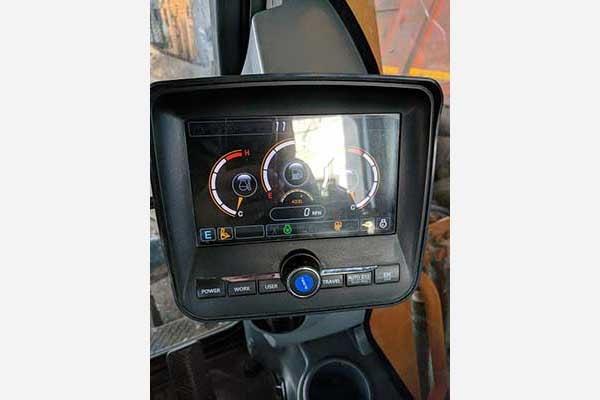 Колесный экскаватор HYUNDAI R180W-9S, год 2013