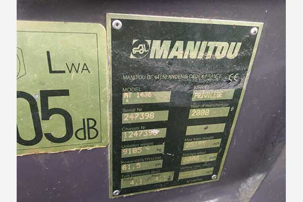 Телескопический погрузчик Manitou ML 1436 БУ