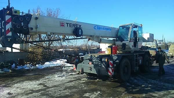 Автокран Terex RT35 БУ