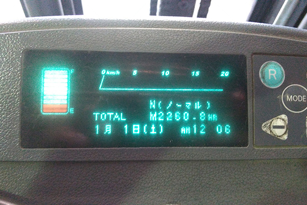 Электропогрузчик Nichiyu FBT13P, 2006