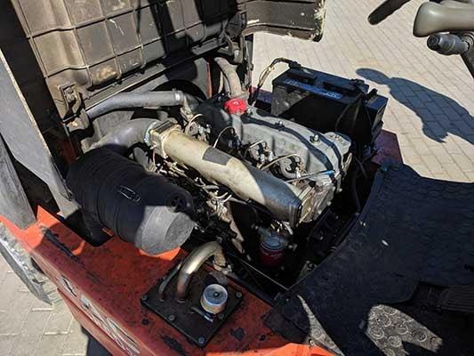 Вилочный погрузчик БУ 3,5 тонны JAC CPCD35