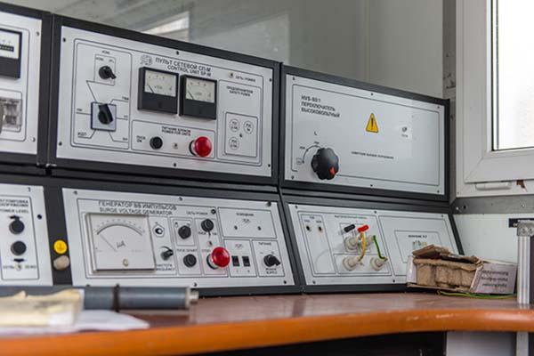 Передвижная лаборатория высоковольтных испытаний БУ