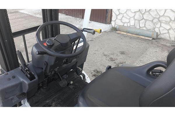 Электрический автопогрузчик TCM FB15-8T БУ