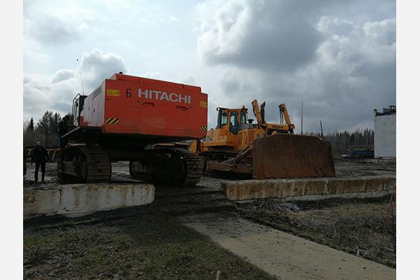 БУ экскаватор Hitachi 870
