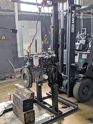 Ремонт погрузчиков, складской и строительной техники