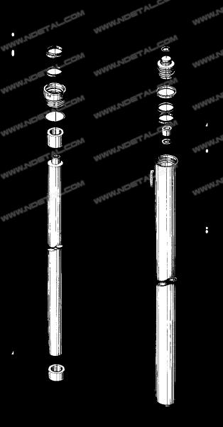 Lift cylinder,Left