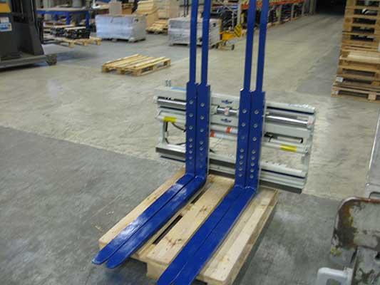 Захват для нескольких паллет (Multiple Load Handlers) 25G2-FDS-A501