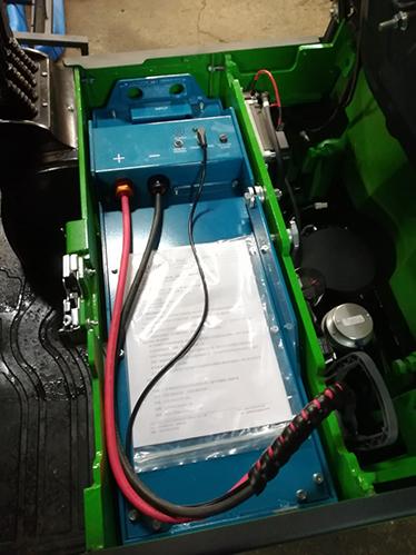 Электропогрузчик Литиевая Батарея (Li-ion) | Noblelift