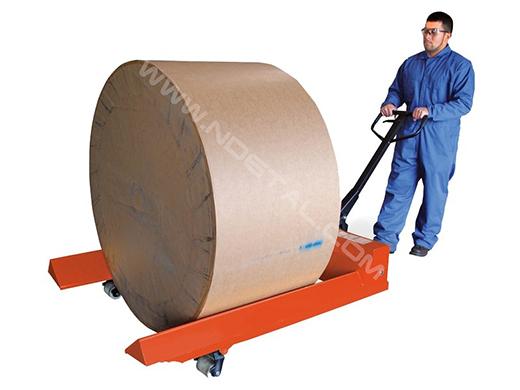 Гидравлическая тележка для рулонов  noblelift ACR 20R1000