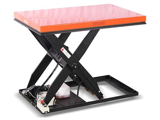 тележки с подъемным столом рольгангом