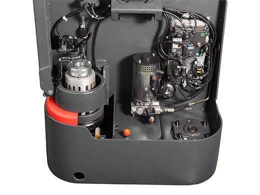 Гидравлическая тележка(Рохля) noblelift PS 20L (4600)